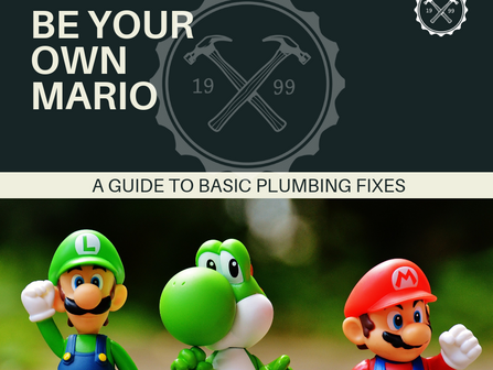 Plumbing: Be Your Own Mario