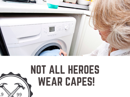 Your Washer & Dryer: A Hero's Tale