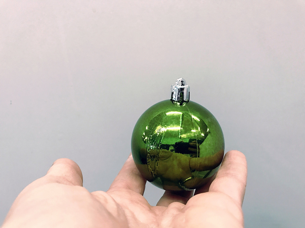 Christmas bulb DIY - Santee Hardware