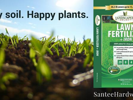 Happy soil. Happy plants.