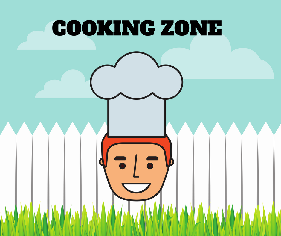 Chef in the Cooking Zone
