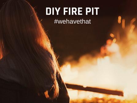 Building a Firepit