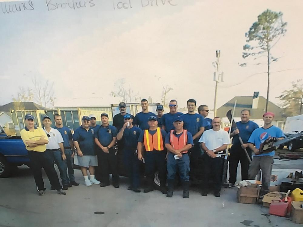 Santee Helps with Hurrican Katrina