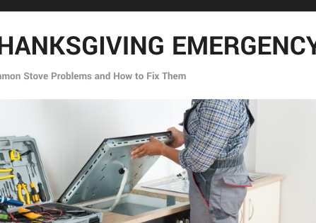 Thanksgiving Emergency and How to Fix It