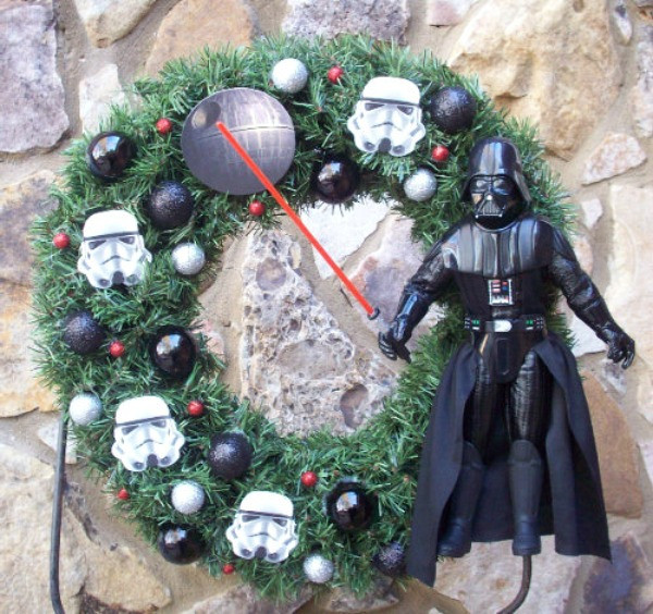 Star Wars wreath