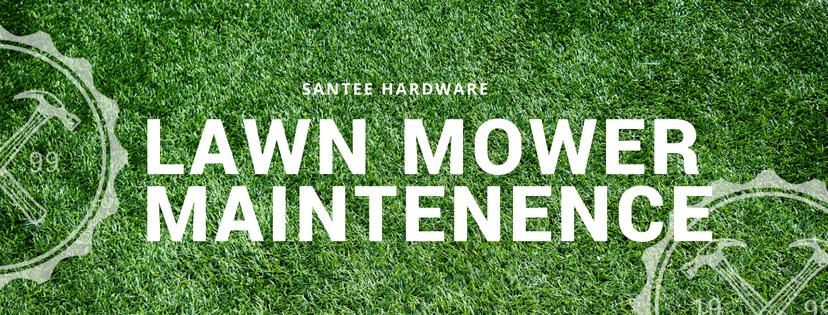 Santee Hardware Lawn Mower