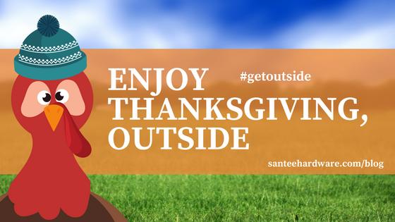 Enjoy Thanksgiving outside. #getoutside