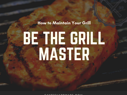 Grill Masters Treat Their Grills Right