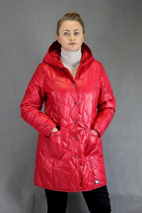Płaszcz Daria kolor czerwony (malinowy)