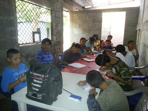 English Class in Ciudad Sandino, Nicarag