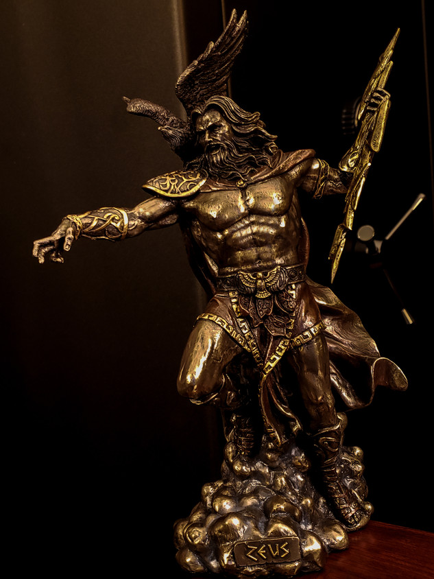 Zeus God Trophy January
