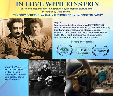 In Love With Einstein-Best Feature Screenplay