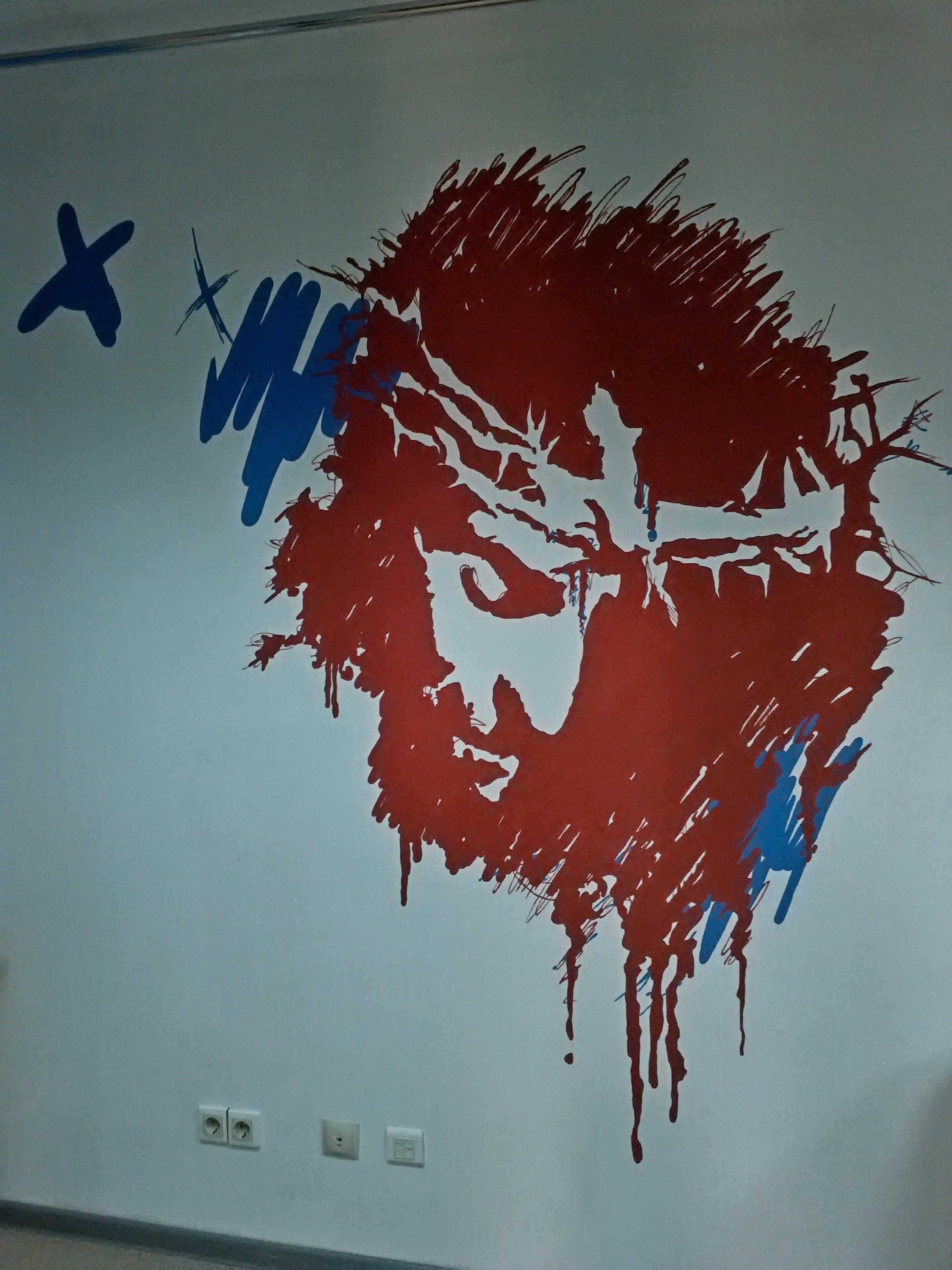 Роспись в молодежном офисе