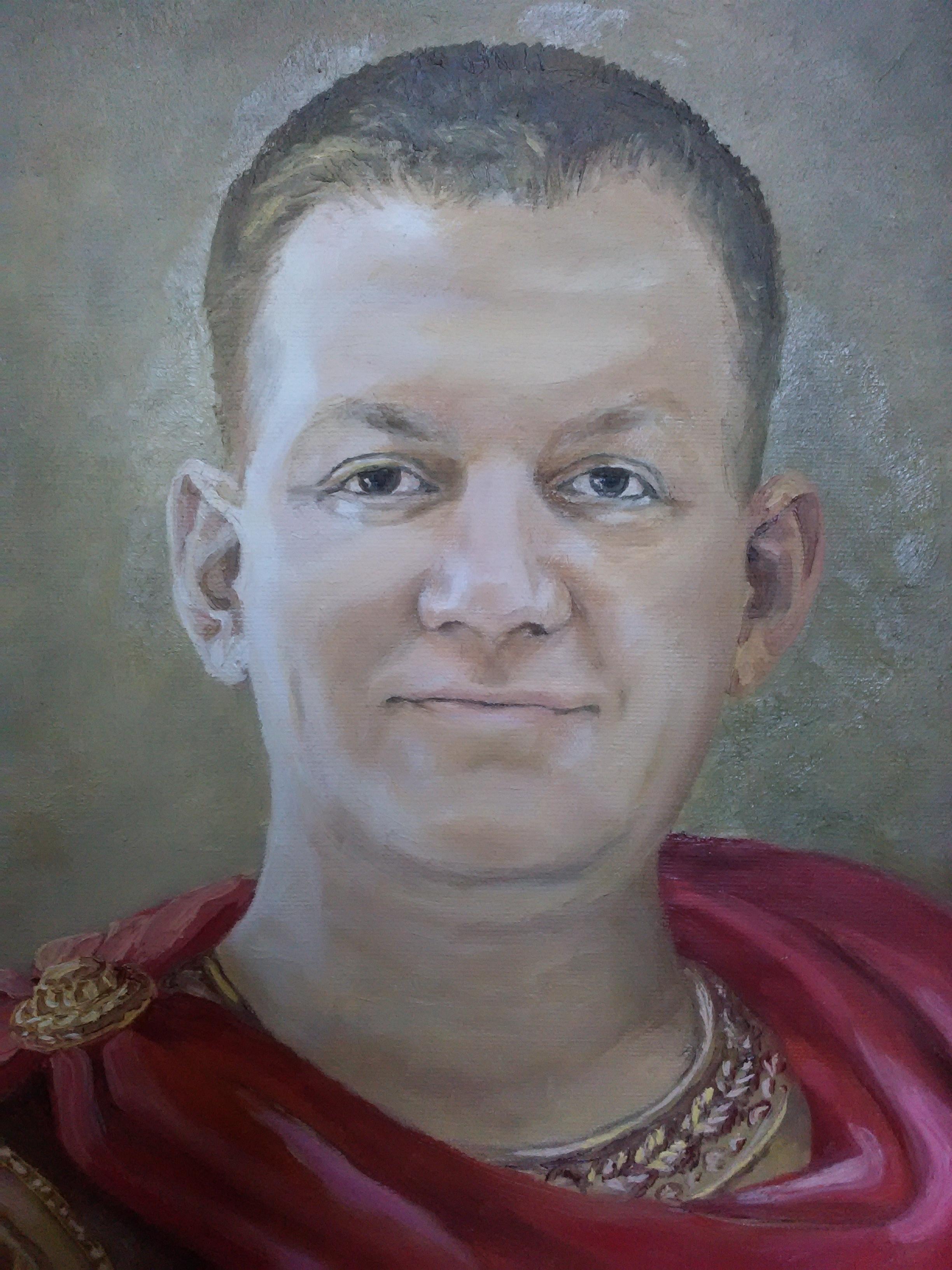 Мужской портрет. Фрагмент