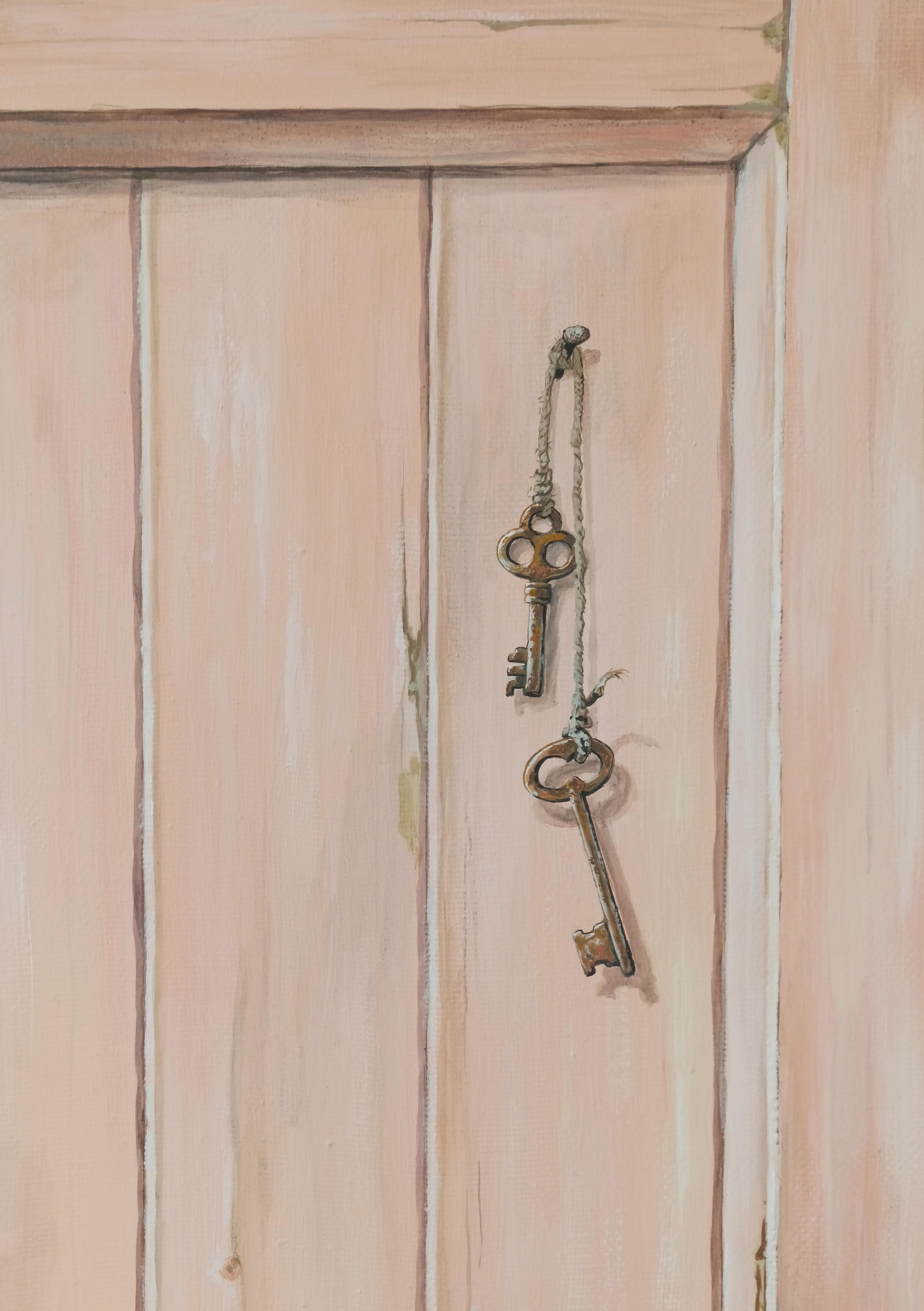 Старая дверца. Фрагмент