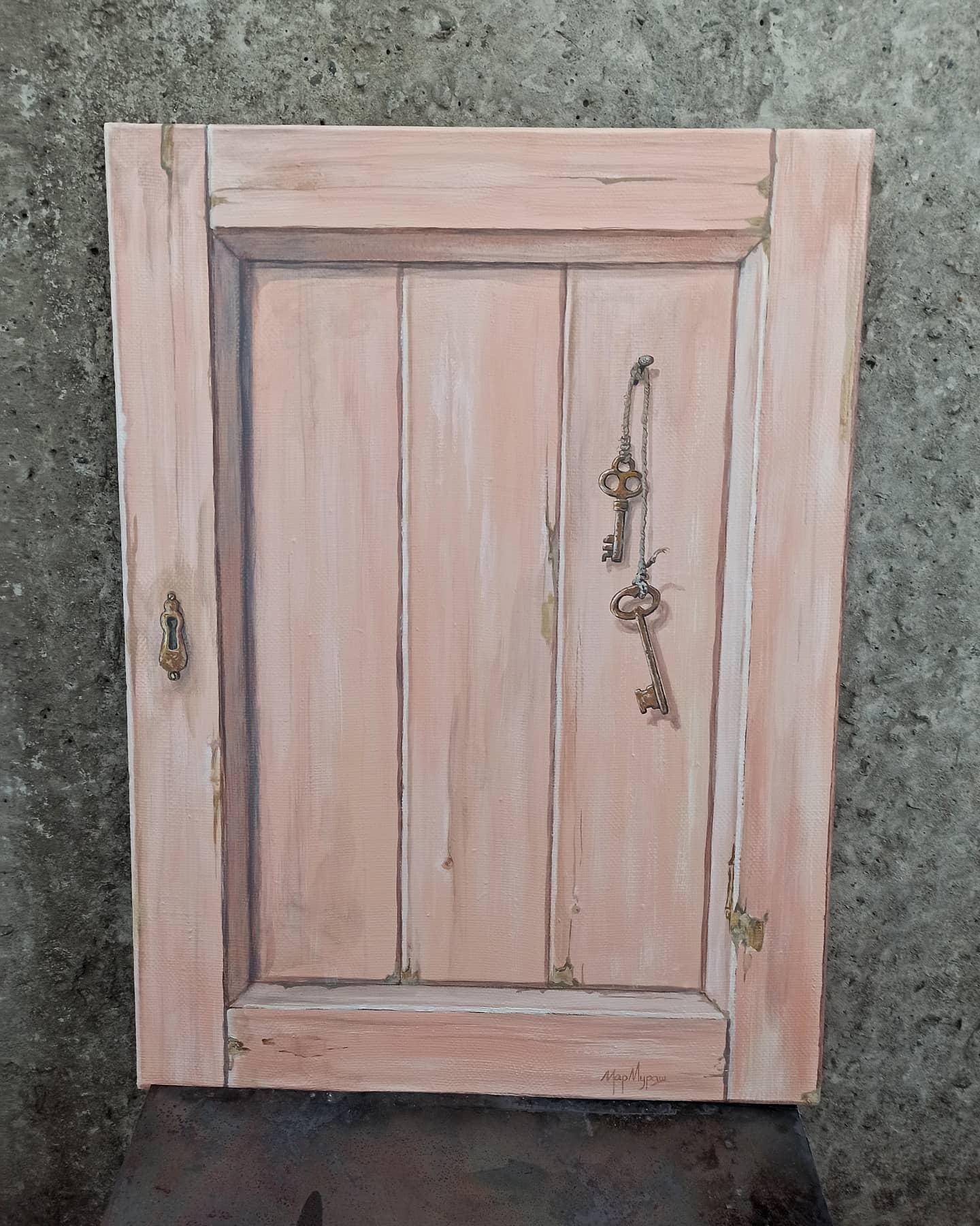 Старая дверца