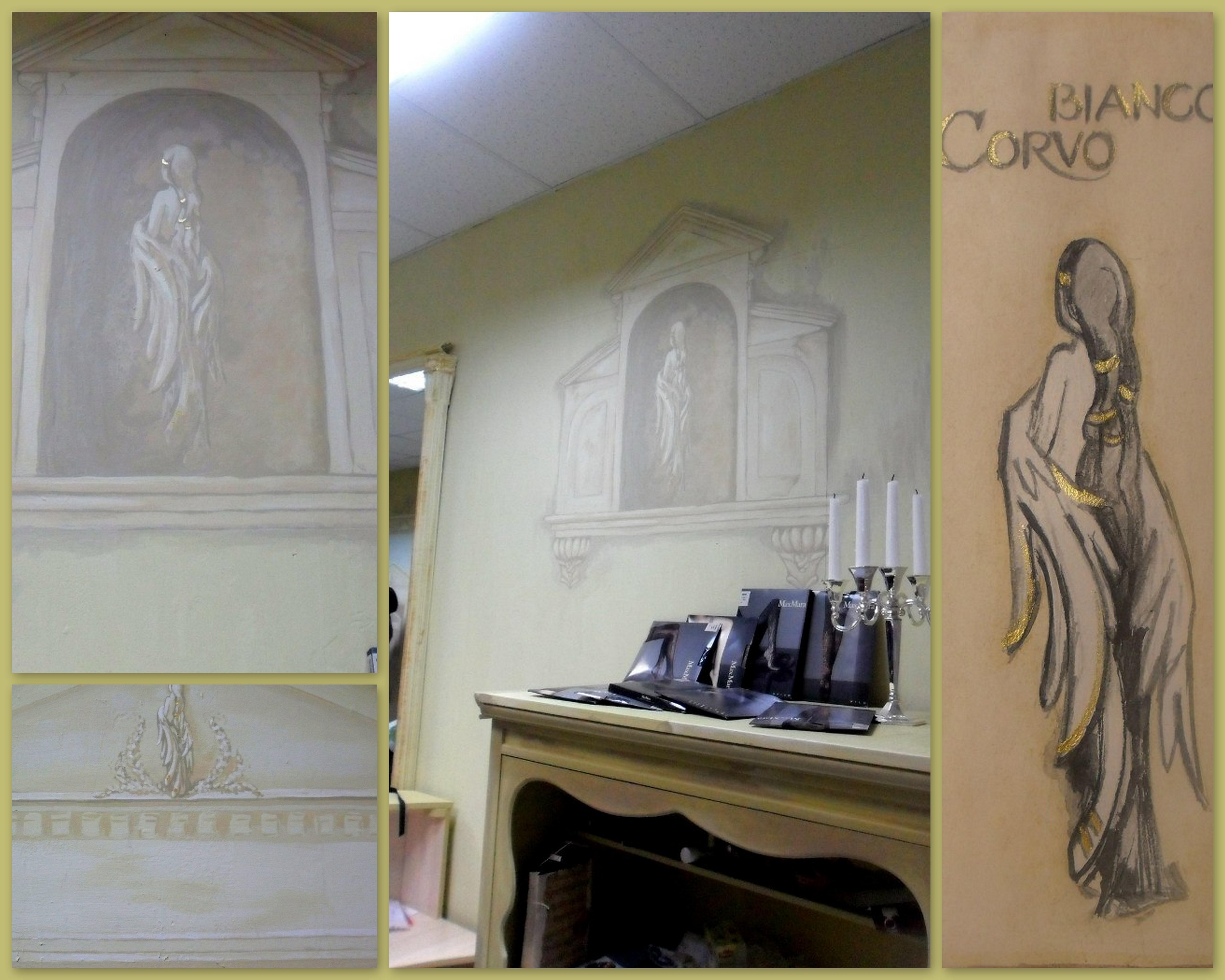 Оформление салона одежды