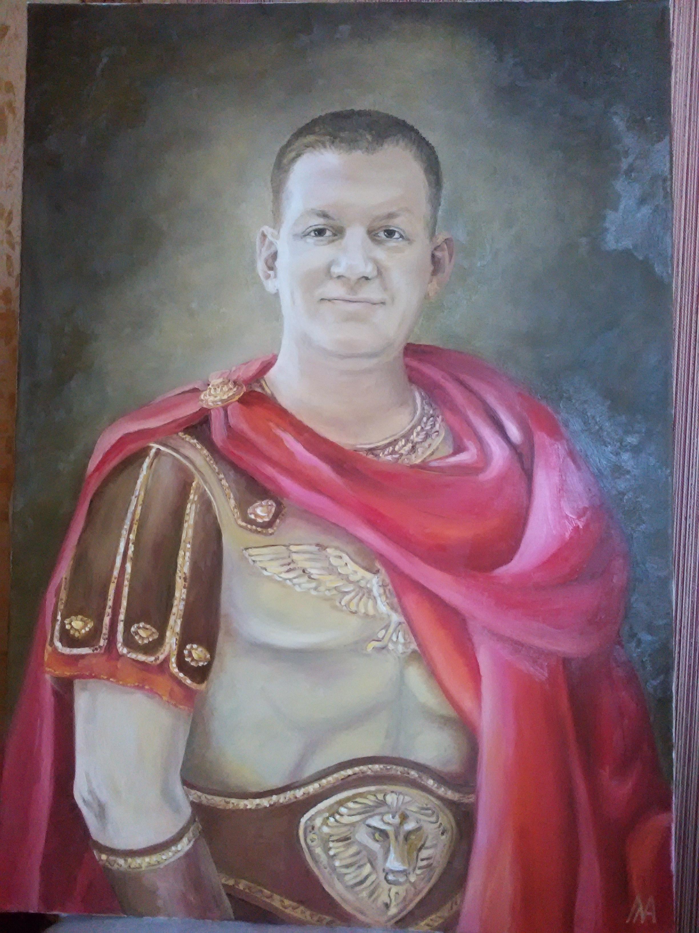 Мужской портрет в образе цезаря
