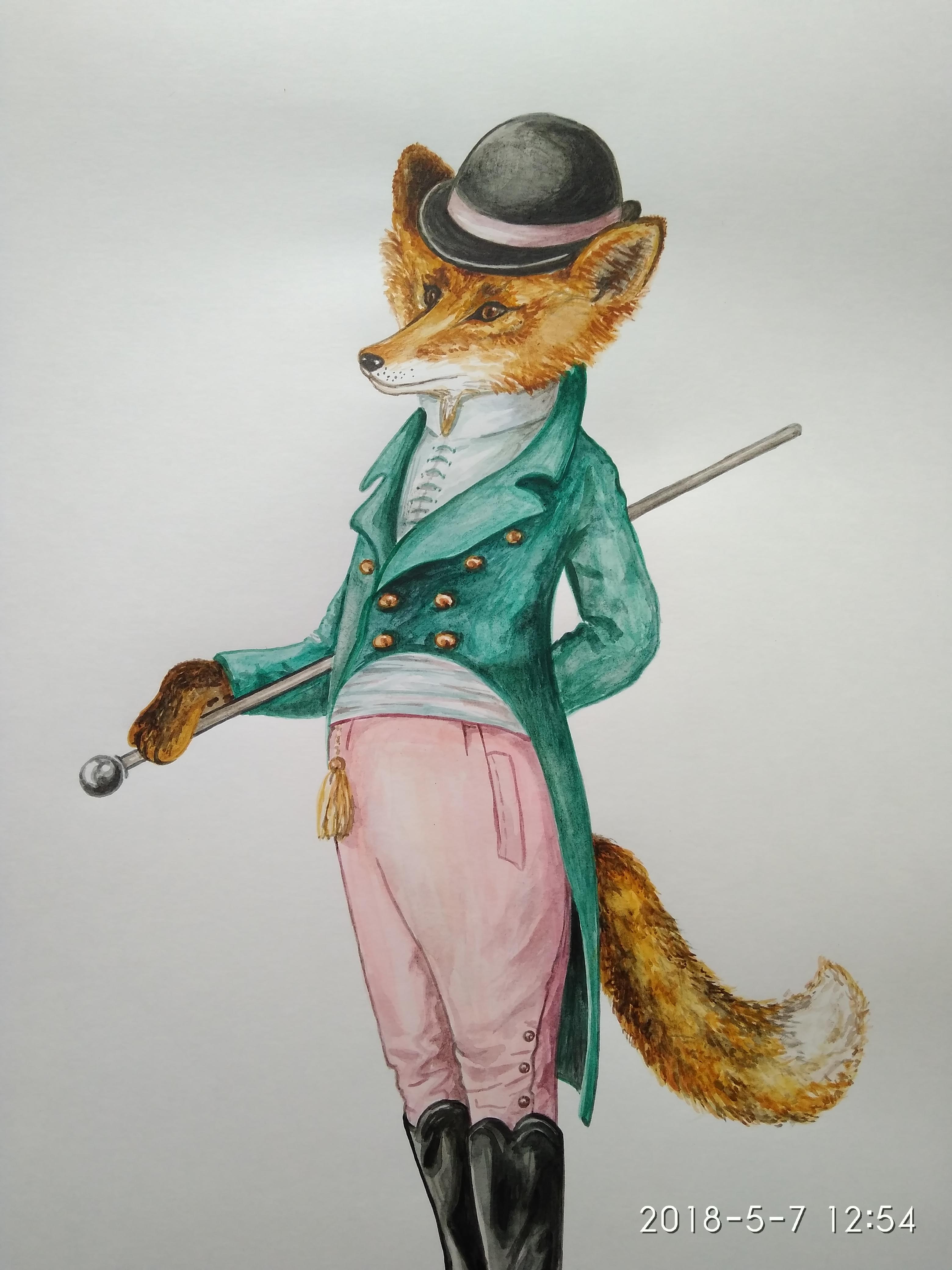 Лис-аристократ