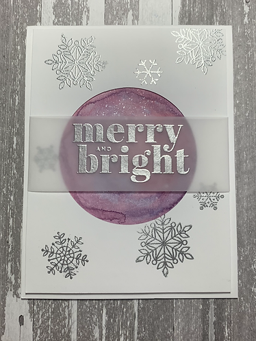 Merry & Bright, Holiday Card