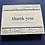 Thumbnail: Thank You/Sympathy/Family Cards (Set of 10)