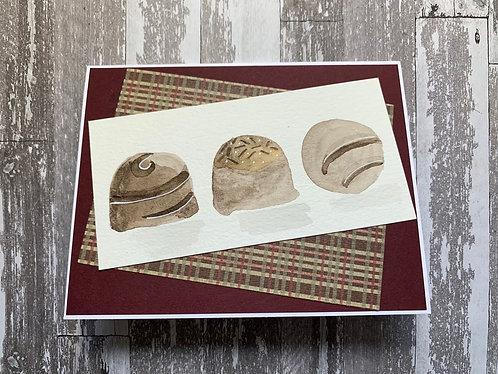 Chocolate Chemo/Cancer Card