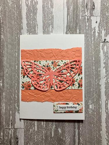 Butterfly Happy Birthday
