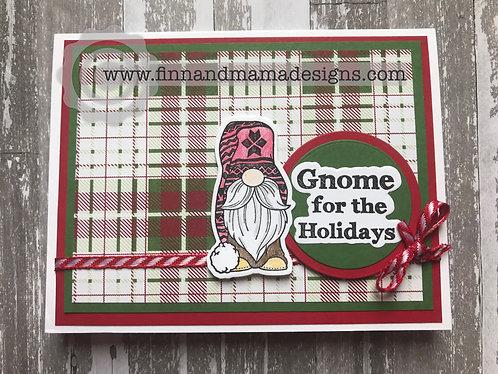 Plaid Gnome for the Holidays