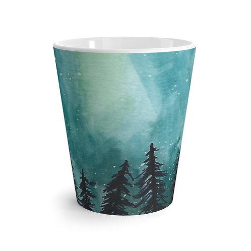 Northern Lights, Latte Mug