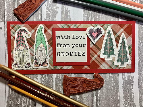 (Set of 3) With Love from your Gnomies Cards