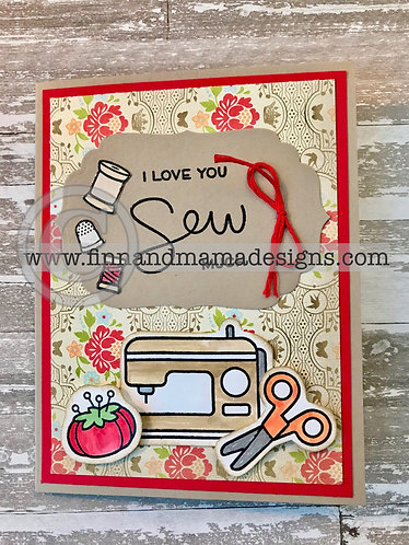 I Love You Sew Much, Blank