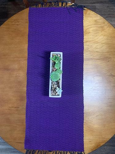 Table Runner, Violet Purple
