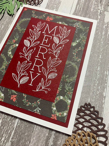 """""""Merry"""" Christmas Card"""