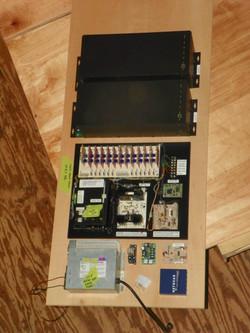 Chamber control panel
