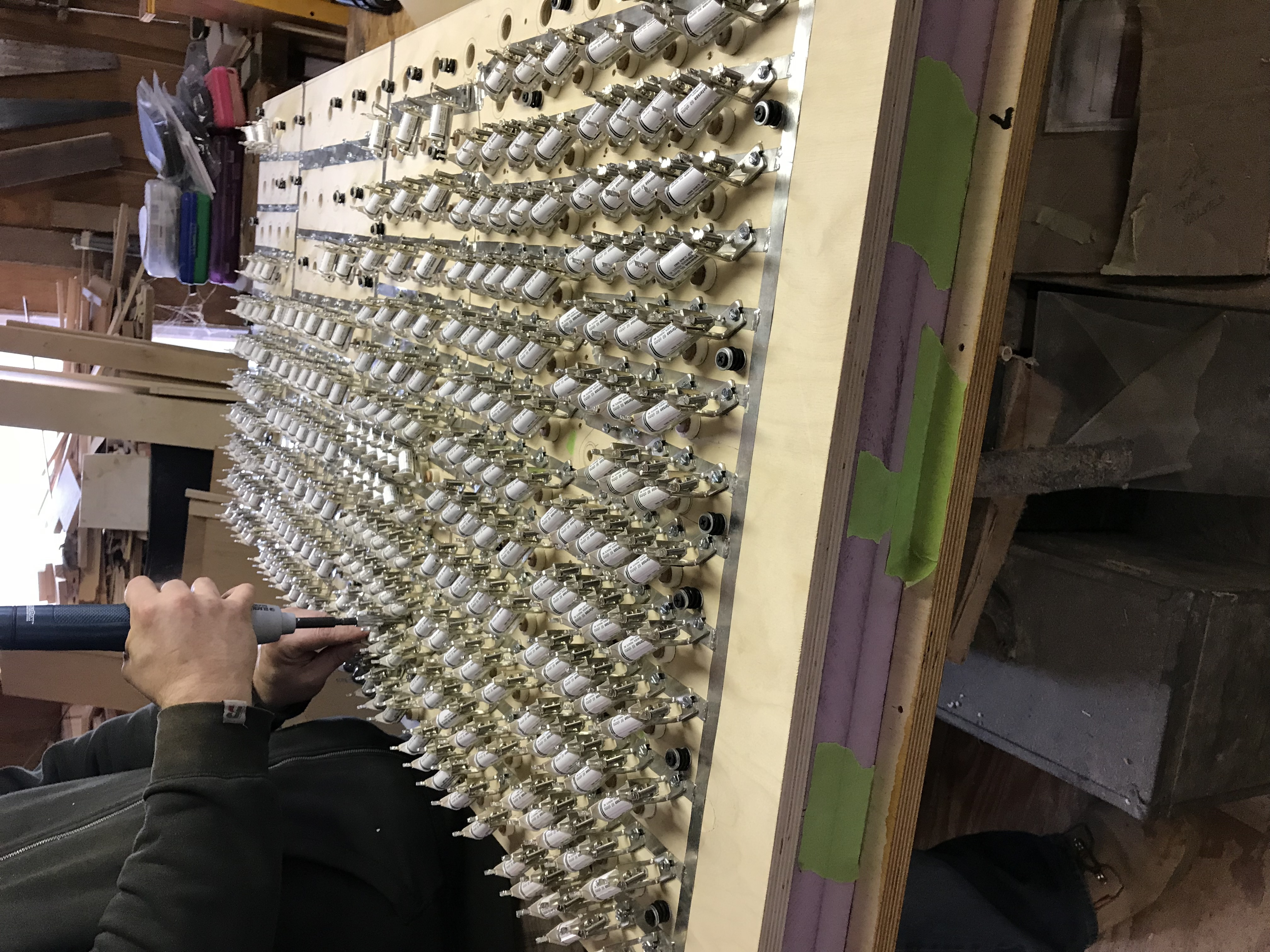 Installing valves