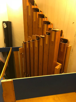 Contrabass - biggest pipes in organ