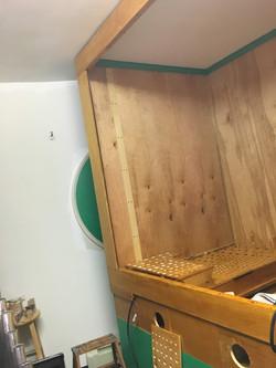 Choir box takes shape