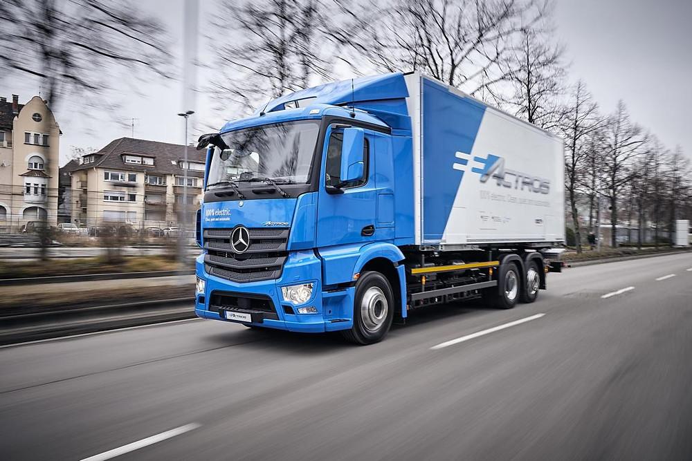 Mercedes-Benz e-Actros im Kundentest