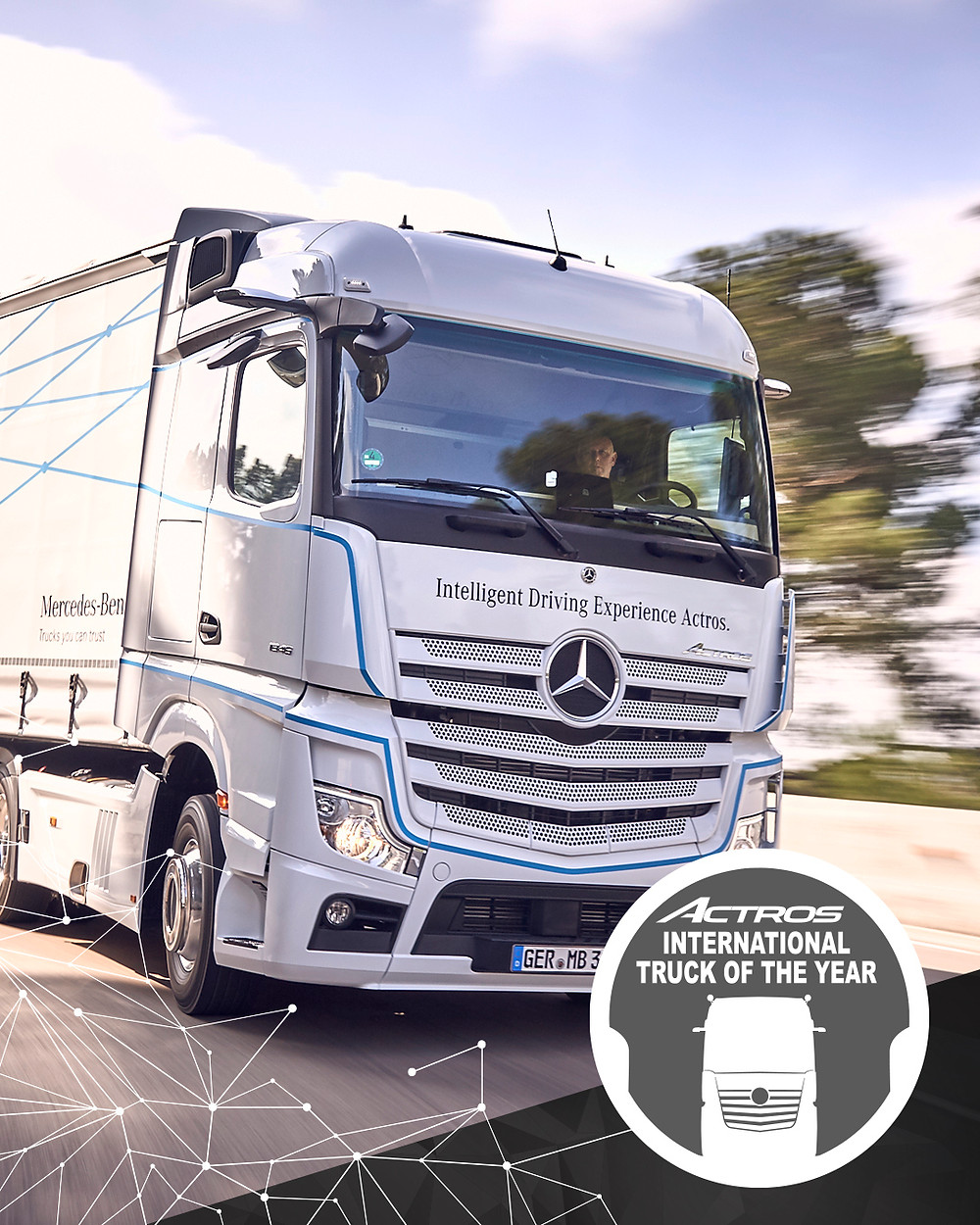 Neuer Actros ist Truck of the Year 2020
