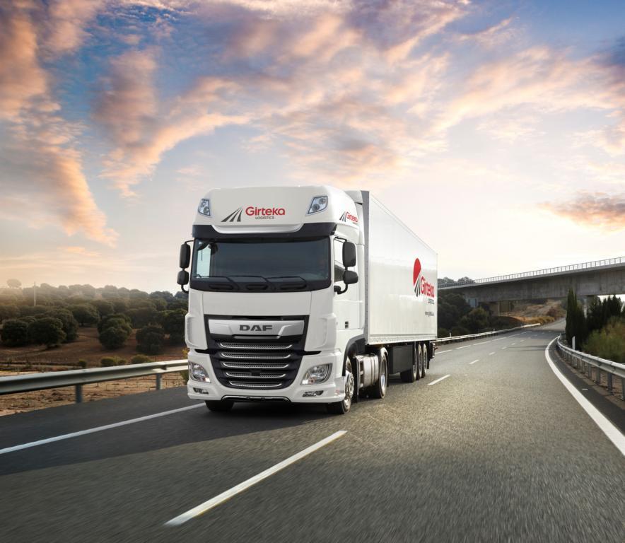 500 DAF für Girteka Logistics