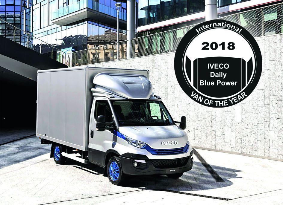 "Iveco ist ""Van of the Year 2018"""
