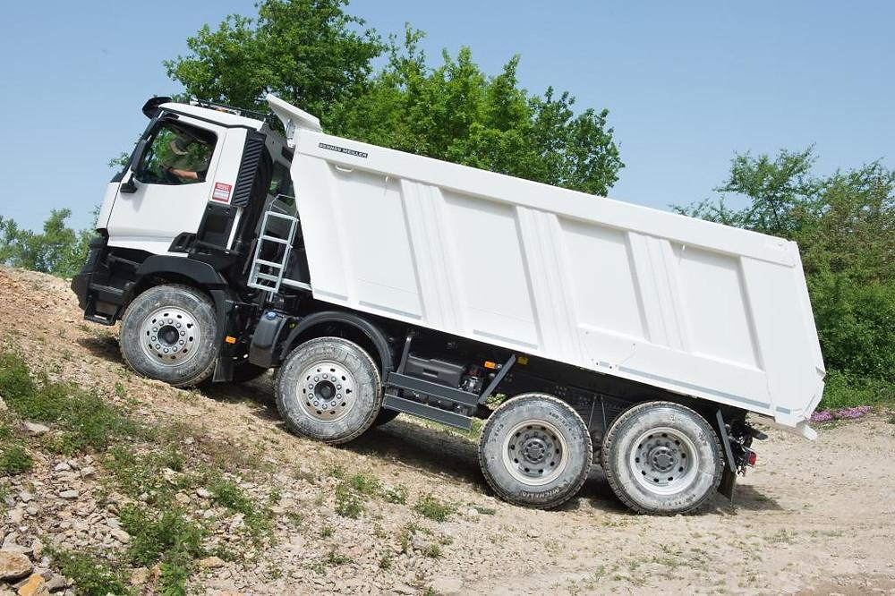 Renault Trucks für die Baustelle