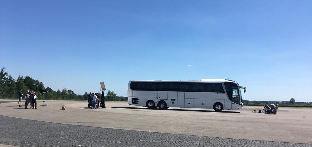 MAN Bus Filmdreh