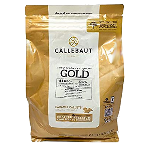 Callebaut - Gold - Pastille caramel 30%