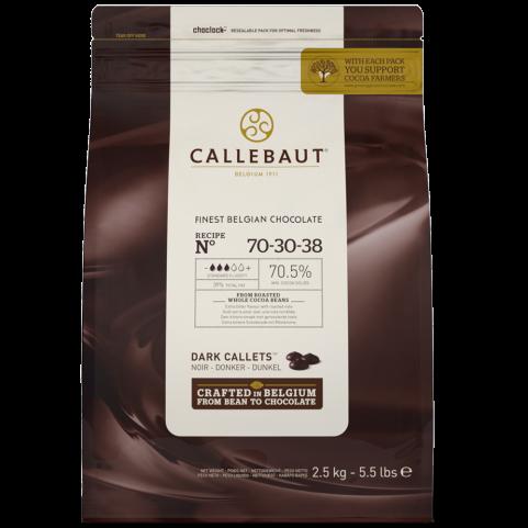 Callebaut-2.5kg- Pastille Noir 70%