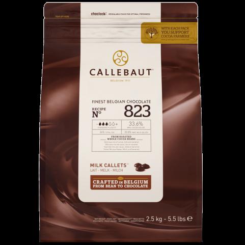Callebaut Pastille Lait 34%