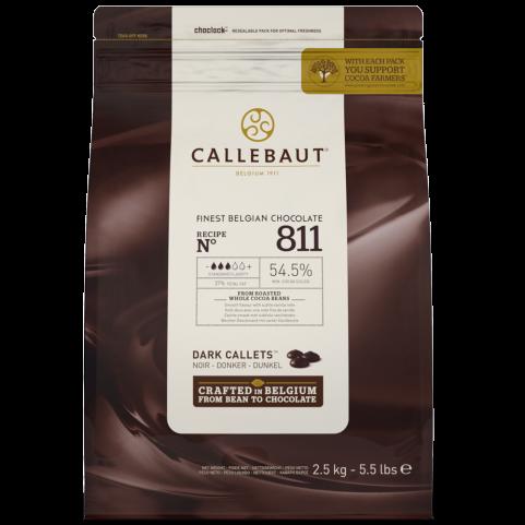 Callebaut Pastille Noir 54%