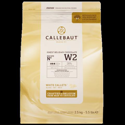 Callebaut Pastille Blanc 28%