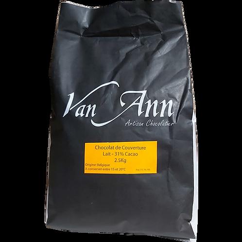 VA-M37 -2.5kg- Pastille Lait 37%