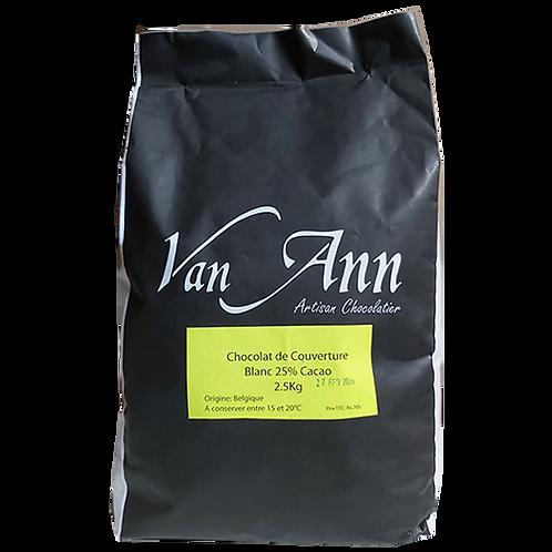 VA-W25 - Pastille Blanc 25%